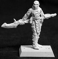 1 x EREDAIN MAGE MERCENARY - WARLORD REAPER miniature figurine jdr rpg d&d 14024