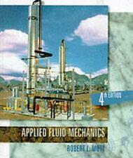 Applied Fluid Mechanics (Fourth Edition), Robert L. Mott, 0023842318, Book, Good