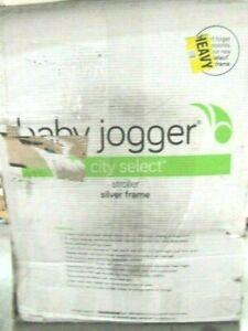 Baby Jogger City Select Single Stroller, Jet