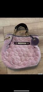 Juicy Couture Pink Velour Bag