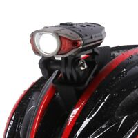 Cycling Light Helmet Mount Bike Bicycle Led Safety Durable Rear Tail Front Lamp