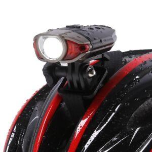 Fahrrad Licht Helm Halterung LED Sicherheit Haltbar Hinten Schwanz Vorne Lampe