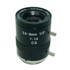 3.5-8.0mm Varifocal Manual Iris Lens For CCTV Box Camera