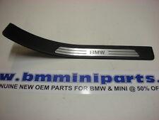 BMW E38 750i REAR RIGHT DOOR ENTRANCE STRIP BLACK 51478156216