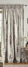 Collection Luxe Photographic Floral Pencil Pleat Curtains 168x137cm RRP £70