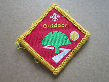 Outdoor Challenge Woven Cloth Patch Badge Boy Scouts Scouting