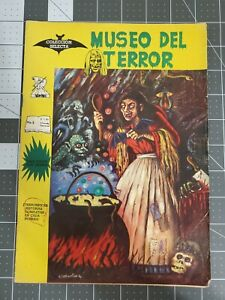 MUSEO DEL TERROR 5 HORROR MUSEUM MEXICAN SPANISH 1966 SCARCE   Witch cover