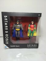 "NJ Croce Batman and Robin Bendable Action Figures DC Comics, 5"", NEW"