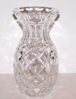 """STUNNING VINTAGE SIGNED WATERFORD CRYSTAL BEAUTIFULLY CUT 7"""" VASE"""