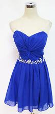 MASQUERADE Cobalt Dance Prom Party Dress 9 - $90 NWT