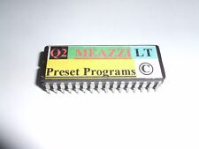 Alesis Quadraverb 2 - MEAZZI LT PRESETS EPROM - 100 Shadows Echoes Copyright.