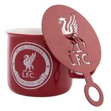 Liverpool F.C. Tin Mug and Stencil Set Official Merchandise