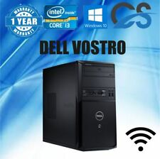 Computadora DELL ordenador fijo INTEL i3 2100 4gb RAM 500GB HDD Windows 10