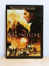 Munich Anamorphic Widescreen Dvd 2006 Steven Spielberg Eric Bana Excellent Shape