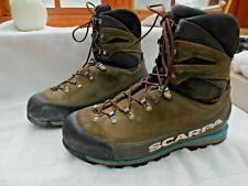 Scarpa Grand Cru GTX Alpine Hiking Boots Trek Mountaineering Leather Men 13 EU47