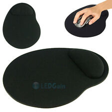 Economic Thin Wrist Support Cloth + EVA Mouse Pad Mice Mat for Computer - Black