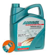 5 (1x5) Liter ADDINOL SAE 5W-30 Premium 0530 C1 Leichtlauf-Motorenöl