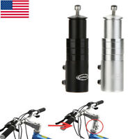 Bicycle Fork Stem Extender MTB Handlebar Riser Head Up Adapter Aluminium Z5O4