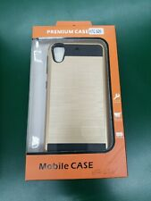 Mobile Phone Hybrid HTC Desire 626 Gold & Black Fitted Hard Case