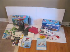 PLAYMOBIL LOT OF 2 SETS-5266 SUMMER FUN+ 3941 RESCUE BOAT WITH THEIR BOXES