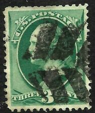 "Fancy Cancel ""Nice Leave"" SON 3 Cent Green Banknotes 1871-83 US 28C35"