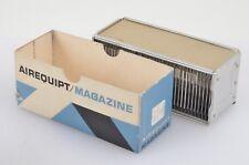 "GENUINE ARGUS AIREQUIPT METAL SLIDE MAGAZINE TRAY HOLDS 36 2 x 2"" 35mm SLIDES"