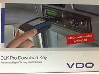 DLK für DTCO von VDO mit Kartenleser Downloadkey