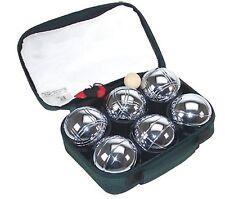 Lot de 6 boules de pétanques 720gr chromée sacoche livraison gratuite