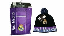 Real Madrid C.F. Official Licensed Soccer Cinch Bag & Beanie Combo 08-1