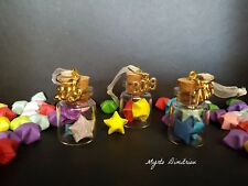 Paper lucky stars in bottle- origami charm