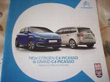 CITROEN C4 PICASSO & GRAND C4 PICASSO PRODUCT SPECIFICATION DECEMBER 2016