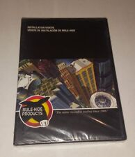 Installation Videos [Dvd Set, 2012] Commercial Roofing [Mule-Hide Products] New