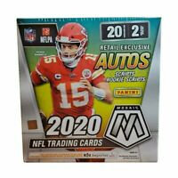 2020 Panini Mosaic NFL Football Mega Box Retail Exclusive Autos Walmart