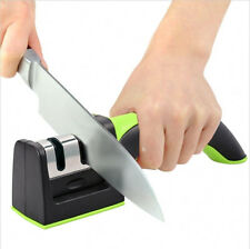 Professional Kitchen Knife Sharpner Diamond Two Stage Kinife Sharpening tool T4