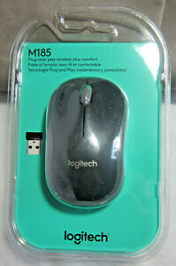 LOGITECH M185 PLUG-AND-PLAY WIRELESS MOUSE
