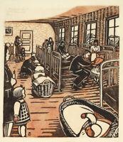 Tschudi Lill : Nursery : 1930s : Archival Quality Art Print