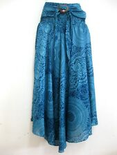 Women Sarong Long Skirt coconut Hippie Gypsy Lagenlook Bohemian Boho Smock CSR