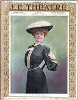 1905 Le Theatre August 1 - Theatre Antoine; Gallois; Mrs. Brown Potter; Lynnes