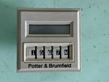 NEW P&B POTTER & BRUMFIELD CNT-35-96 PROGRAMMABLE TIME DELAY RELAY/COUNTER