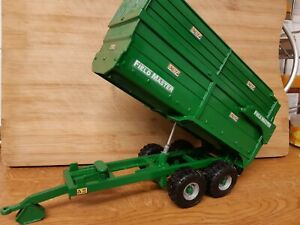 RARE BRITAINS CONVERSION SMYTH FIELDMASTER SILAGE TRAILER FOR TRACTOR SIKU