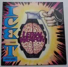 """ICE-T """" LETHAL WEAPON / THIS ONE'S FOR ME / HEARTBEAT REMIX """"SIRE OG 1989 RAP"""