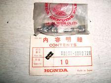 ORIGINAL HONDA SL350 MAIN JET (72) -- 99201-601-0720 NOS