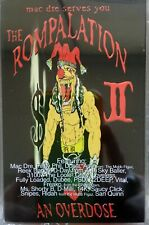 BOX LOT OF 30 V/A - Mac Dre - THE ROMPALATION II : An Overdose CASSETTE TAPE NEW