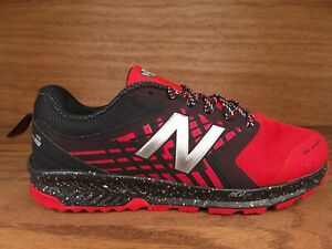 New Balance FuelCore NITREL Trail Running Shoes Mens Sz 11 4E Black Red MTNTRCR1