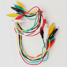 Sell 10pcs Double-ended Test Leads Alligator Crocodile Roach Clip Jumper Wire
