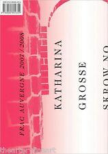 KATHARINA GROSSE: The Flower Show / SKROW NO REPAP 2008 HC Book Catalogue *NEW*