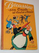 BECASSINE SON ONCLE ET LEURS AMIS bd GAUTIER LANGUEREAU 1950 Pinchon CAUMERY