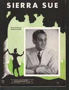 Sierra Sue Glenn Miller Sheet Music