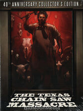 The Texas Chainsaw Massacre BLU-RAY 4K 40th Anniversary Collector's Edition NEW