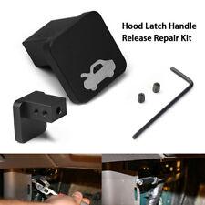 Aluminum Hood Release Latch Handle Repair Kit For Honda Civic 1996-2005 Durable